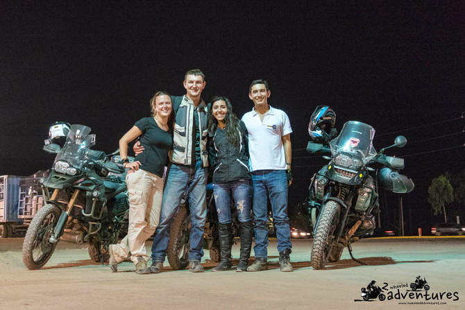 Peruvian adventures: new friends, rally cars, horses and scenic motorcycle rides