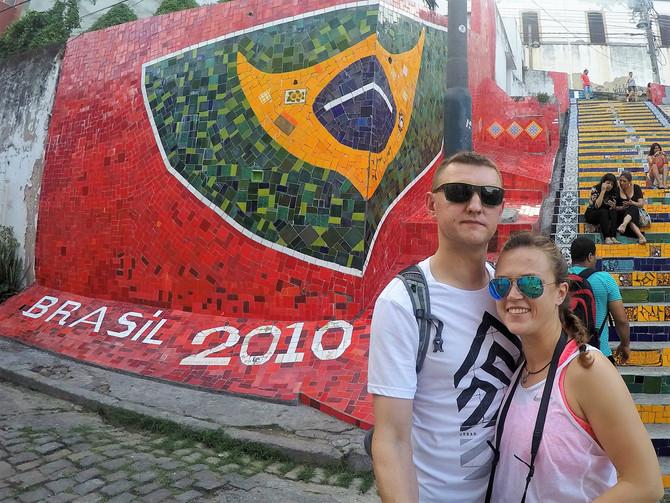 Warm-up in South America: RIO DE JANEIRO!