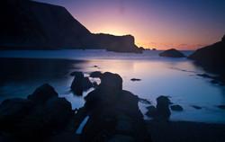 Sunrise at Man O' War Bay