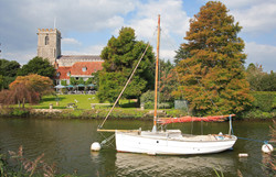 The River Frome at Wareham