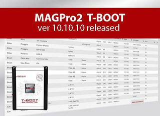 MAGPro2 T-BOOT ver 10.10.10 released