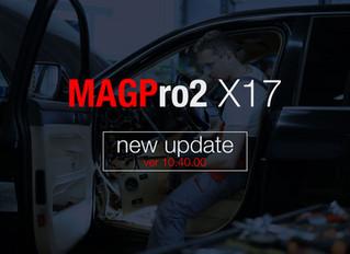 MAGPro2 X17 ver 10.40.00 released