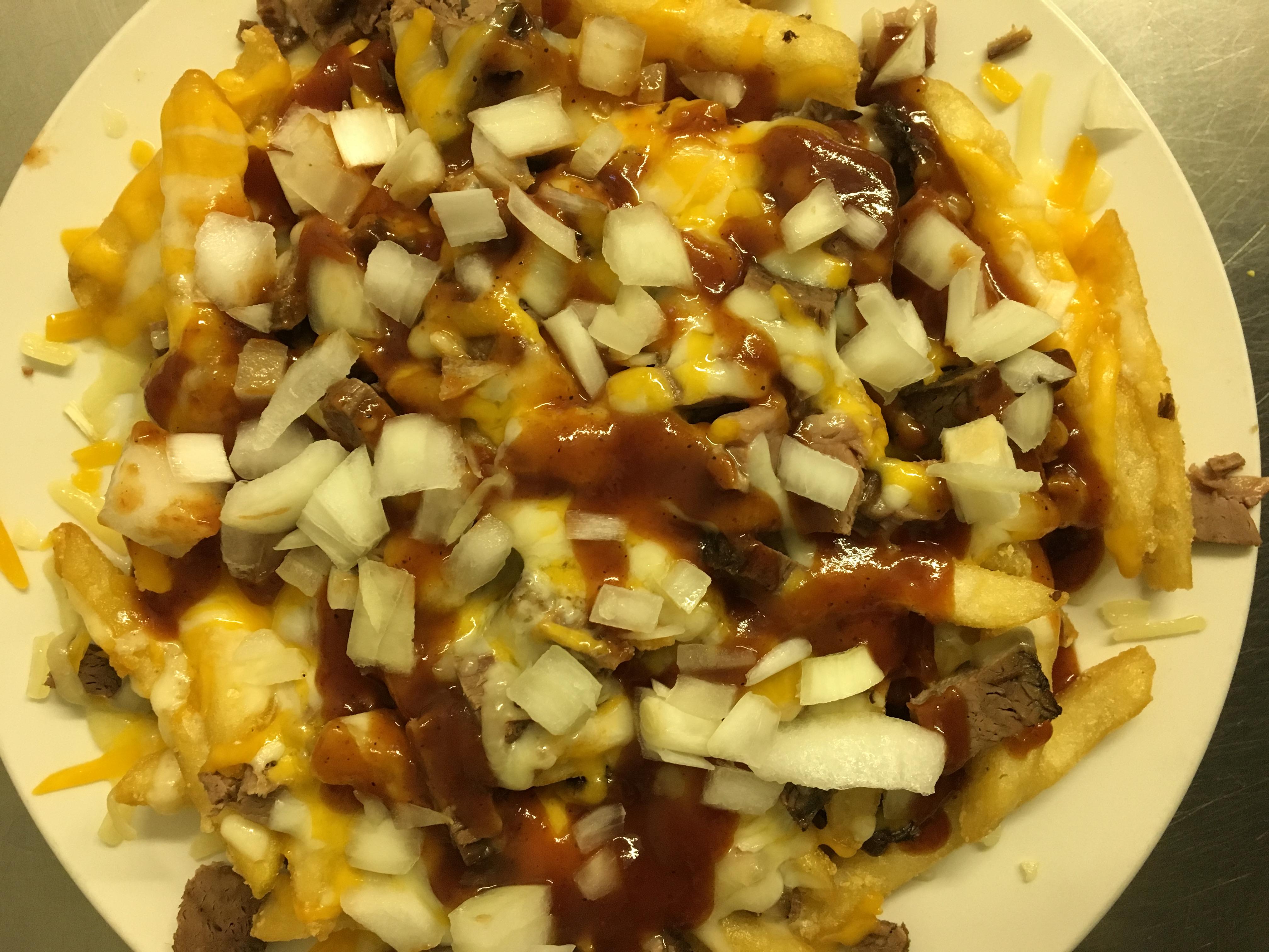 Brisket Loaded Fries