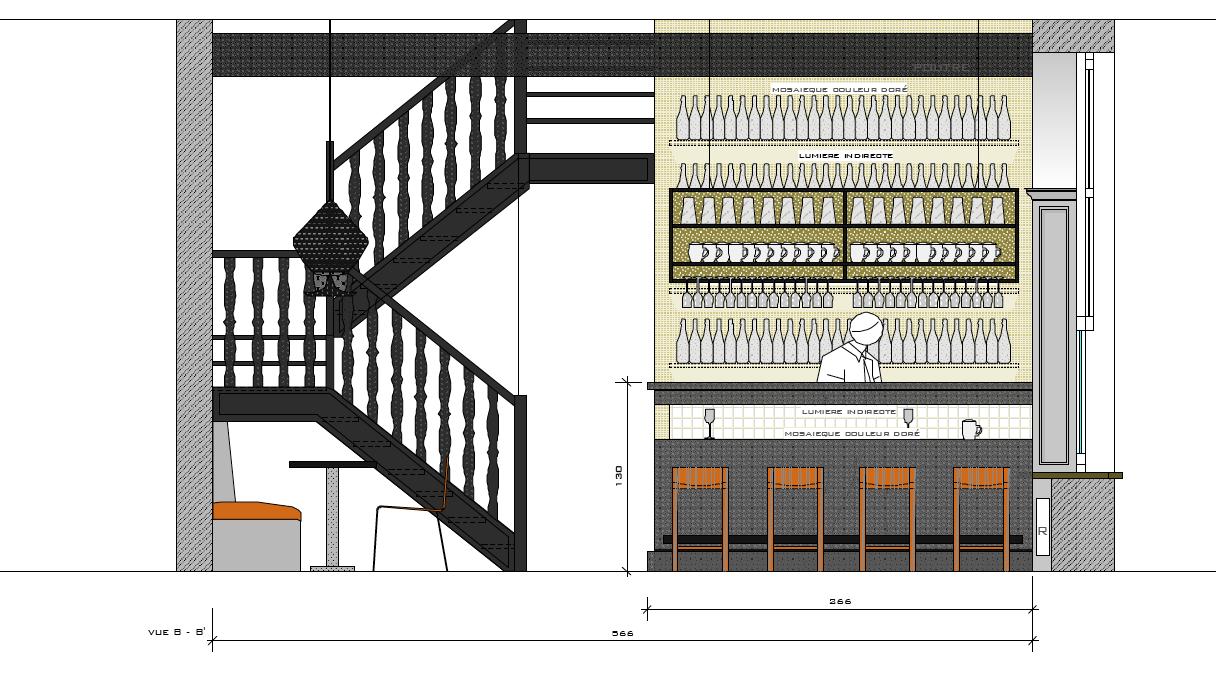 Plan Bar BXL by Sophie de Mahieu