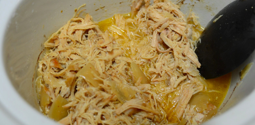 Crystal's slow cooked chicken