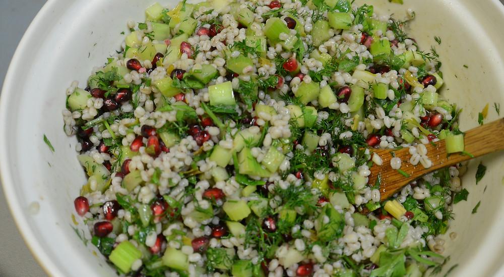 Jesse & Brett's Pomegranate Salad