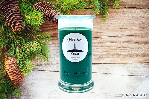 Festival of Trees--Balsam & Cedar--22 oz Candle