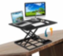 TiltedDesk_Front_CornerR_Defy_Desk_Heigh