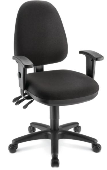 OM Patriot Task Chair Black