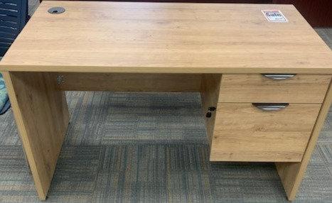 "48"" x 24""Nutmeg Candex Desk"