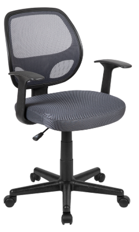 Mid-Back Gray Mesh Ergonomic Task Chair