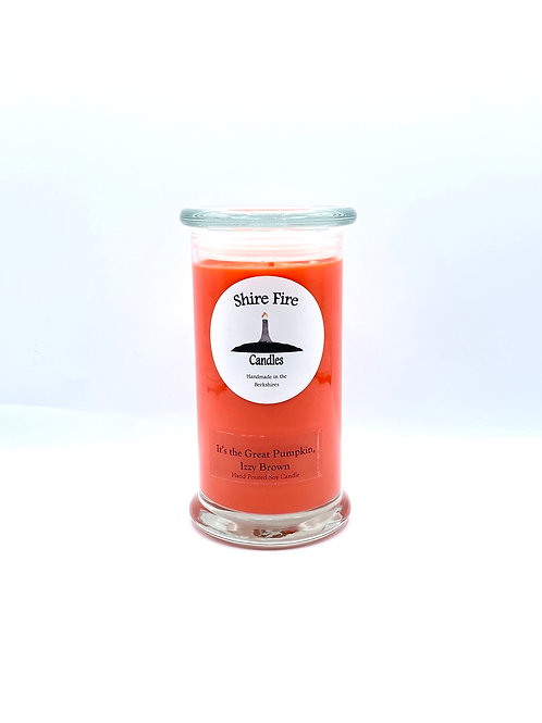 It's the Great Pumpkin, Izzy Brown 22 oz Reserve Jar Candle