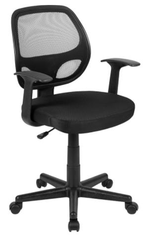 Mid-Back Black Mesh Ergonomic Task Chair