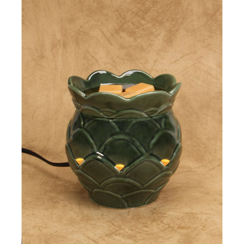 Green Artichoke Wax Melter