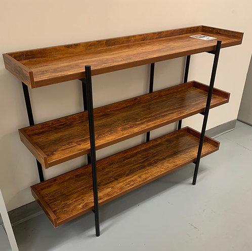 "47"" x 12"" Wood Grain Bookshelf"