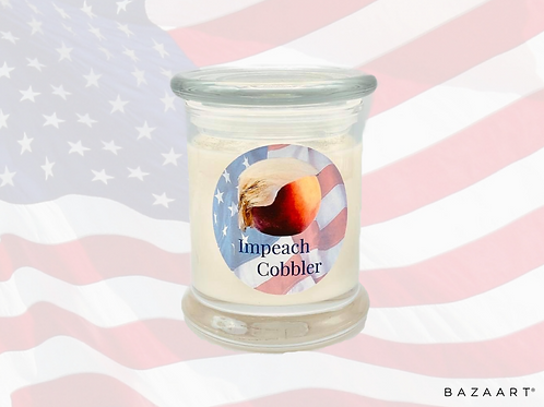 """Impeach Cobbler """"Punny"""" Special Edition Candle"""