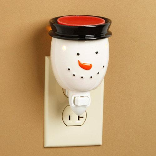 Snowman Ceramic Plug-In Wax Melter