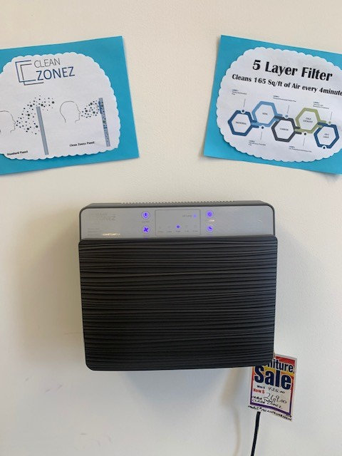 Clean Zonez Office Air Filter