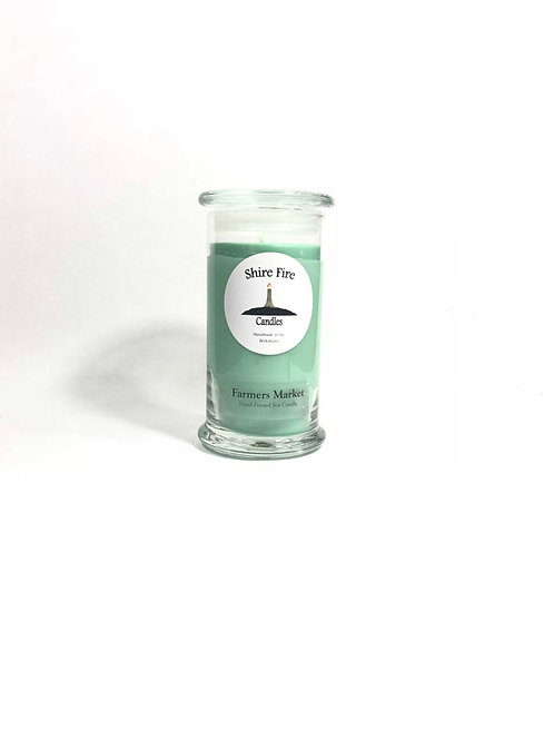 "Farmers Market ""Cucumber Melon"" 22 oz Jar Candle"