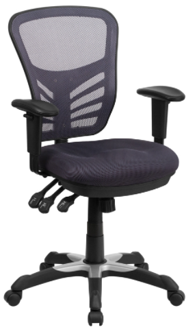 Gray Hal Mesh Back Office Chair