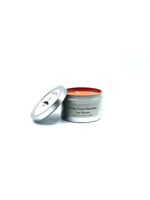 It's the Great Pumpkin, Izzy Brown 8 oz Candle