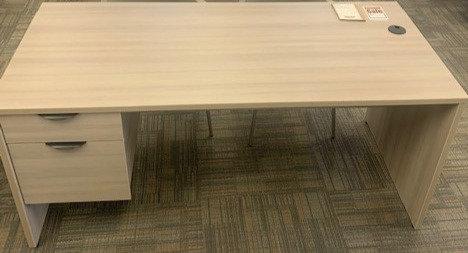 "60"" x 30"" Gray Licatre Desk"