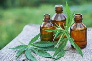 CBD Massage Oil Bottles