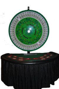 "60"" Big Wheel Money Wheel Rental NJ NY"