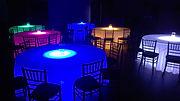 LED Lit Lucite Table Rentals