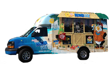 Kona Hawaiian Shaved Ice Truck Bookings NJ