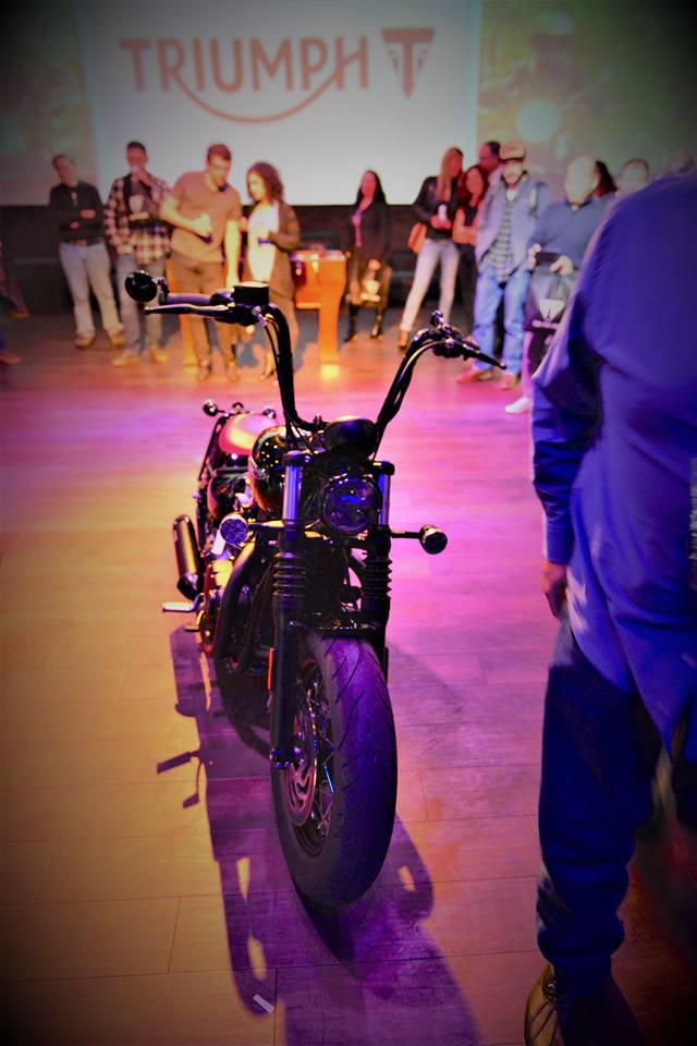 Club Vibe Triumph Motorcycle release