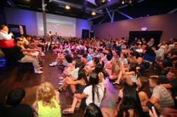 Comedy Hypnosis Show School event