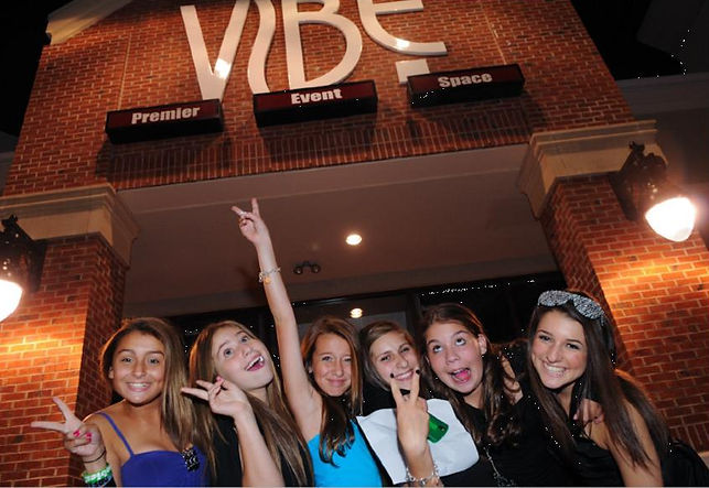 Club VIbe main entrance Bat Mitzvah