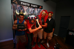 Photo booth rental Project Grad