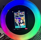 Roaming Photo Booth LED Ring Rental NJ N