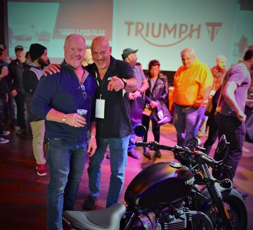 Triumph Event at Club Vibe NJ