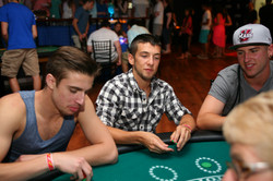 Blackjack Tables at Project Prom