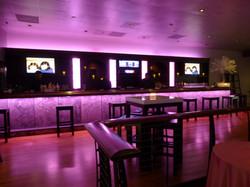 Led Lit main bar at Club Vibe