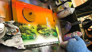 Spray Paint Artist Booking