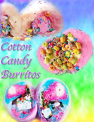Cotton Candy Burritos Booking NJ NY