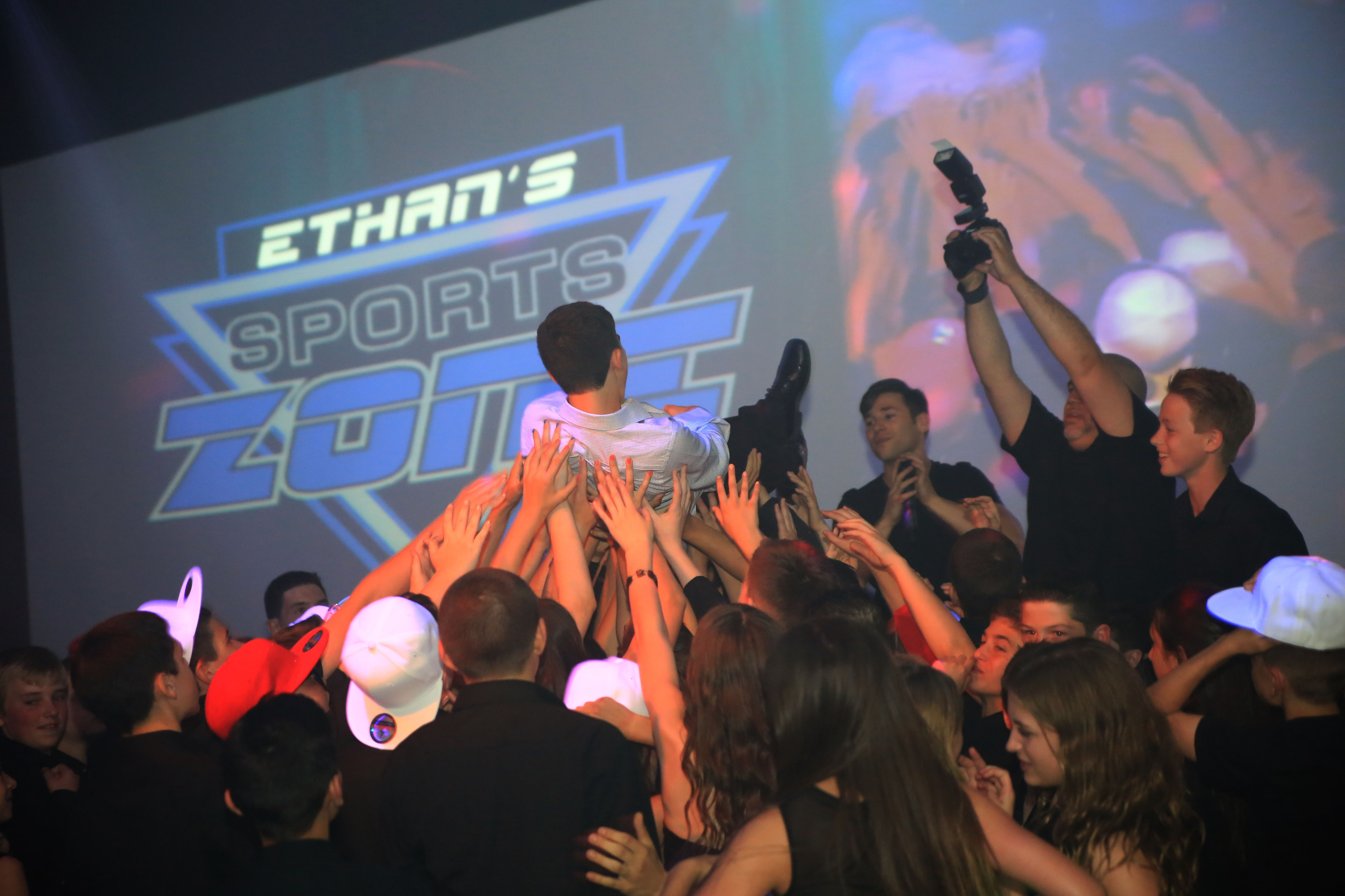 Sports Themed Bar Mitzvah Vibenj.com