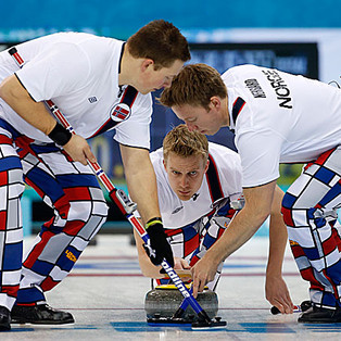 Are the Norwegian Men's Curling Pants Against IOC Rules?