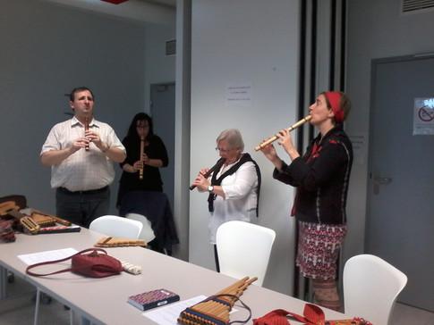 Atelier des sons et musiques andines