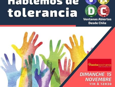 VADC En vivo | Hablemos de Tolerancia PARTE 2