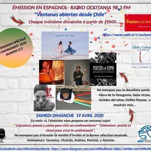 Podcast: Literatura, poesía y canto para vivir un confinamiento | Ventanas abiertas desde Chile - Ab