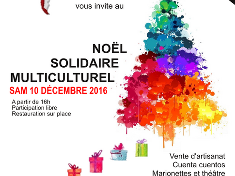 Noël solidaire multiculturel 2016