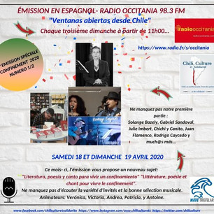 Podcast: Literatura, poesía y canto para vivir un confinamiento   Ventanas abiertas desde Chile - Ab