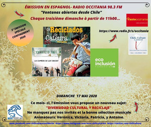 Podcast: Diversidad Cultural y Reciclaje | Ventanas Abiertas desde Chile - Mayo de 2020