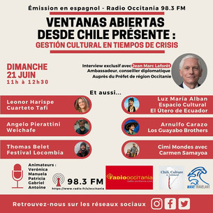 Podcast: Gestion cultural en tiempos de crisis | Ventanas abiertas desde Chile, Junio 2020 Parte 2