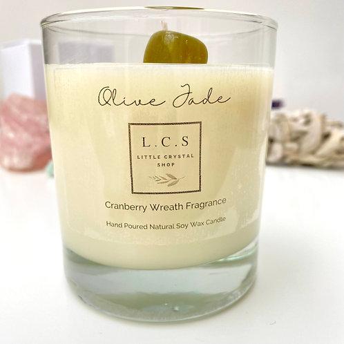 Luxury Olive Jade Cranberry Wreath Fragrance